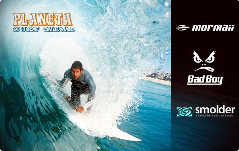 50% de desconto na Planeta Surf Wear. Vale de R$60 por R$30. Entre na onda da economia!
