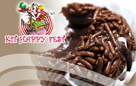 150 DOCINHOS da Happy Fest - 100 Trufas + 50 docinhos de R$ 70,00 por R$ 27,90