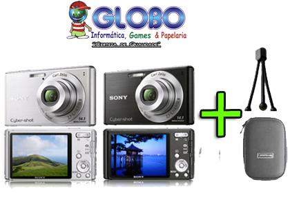 Super Oferta Relâmpago e Limitada!!! 43% OFF Nova Câmera Digital Sony W530 14 MP (Tire fotos Panorâmicas) + BOLSA + Tripé. DE: 699,00 POR: R$399,00 EM 12X