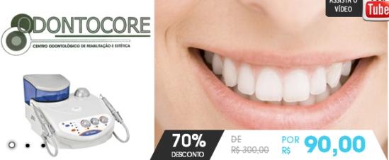 70% de desconto em um Tratamento Periodontal com uso de Ultrassom (Jet Sonic) + uma Profilaxia Dental (polimento dentário) + Aplicação de Flúor