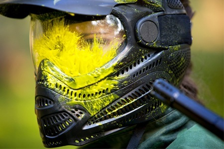 2 horas de paintball + 100 bolinhas + máscara +  + colete, por R$ 12,99, no Adrenalina Paintball